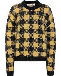 Marni - Alpaca And Wool-blend Sweater - Lyst