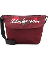 Undercover - Embroidered Satin Shoulder Bag - Lyst