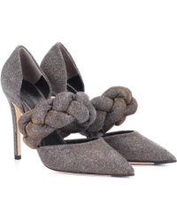 Marco De Vincenzo - Metallic Court Shoes - Lyst