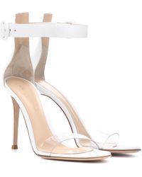 Gianvito Rossi - Leather Sandals - Lyst