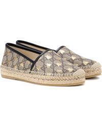 Gucci - GG Supreme Printed Espadrilles - Lyst
