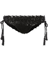 Anna Kosturova - Darling Crocheted Cotton Bikini Bottoms - Lyst