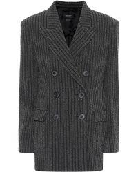 Isabel Marant - Wool-blend Blazer - Lyst