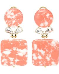 Lele Sadoughi - Stone Starlet Earrings - Lyst