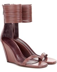 Rick Owens - Leather Sandals - Lyst