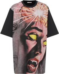 Christopher Kane - Printed T-shirt - Lyst