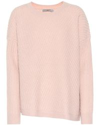 Vince - Pullover a coste in misto lana - Lyst