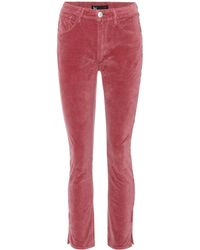 3x1 - W3 Higher Ground Mini Split Jeans - Lyst
