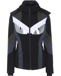 Fendi - Panelled Ski Jacket - Lyst