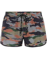 The Upside - Camouflage-printed Shorts - Lyst
