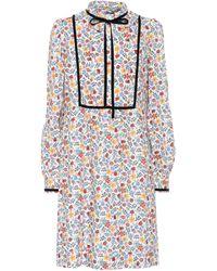 A.P.C. - Rita Printed Cotton Dress - Lyst