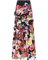 Preen By Thornton Bregazzi - Aurelia Floral-printed Maxi Skirt - Lyst