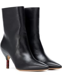 Gabriela Hearst - Mariana Leather Ankle Boots - Lyst