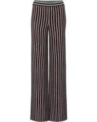 Missoni - Hose aus Häkelstrick mit Wolle - Lyst