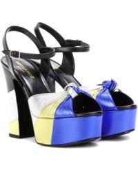 Saint Laurent | Candy Platform Sandals | Lyst