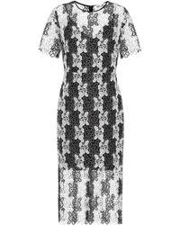 Diane von Furstenberg - Guipure Lace Dress - Lyst