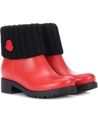 Moncler - Ginette Rubber Boots - Lyst