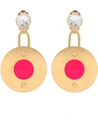 Marni - Crystal-embellished Clip-on Earrings - Lyst
