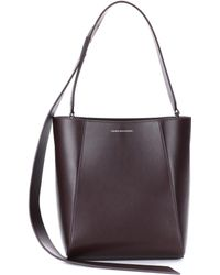 CALVIN KLEIN 205W39NYC - Small Bucket Leather Tote - Lyst