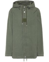 A.P.C. - Paintball Cotton Parka - Lyst
