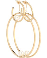 Chloé - Darcey Hoop Earrings - Lyst