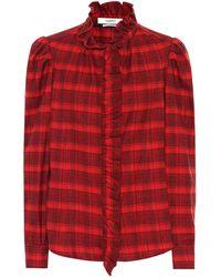 Étoile Isabel Marant - Dules Checked Cotton Shirt - Lyst
