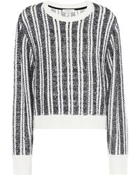Public School - Nabila Wool-blend Striped Jumper - Lyst