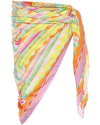 Emilio Pucci - Printed Cotton Sarong - Lyst