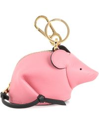 Loewe - Mouse Leather Pouch - Lyst