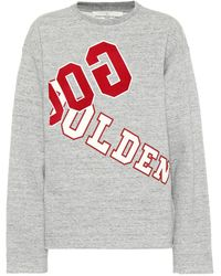 Golden Goose Deluxe Brand - Printed Cotton Sweatshirt - Lyst