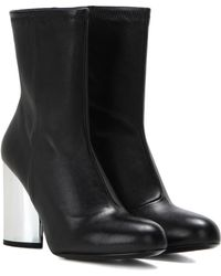 Opening Ceremony - Zloty Leather Ankle Boots - Lyst