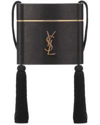 Saint Laurent - Monogram Leather Shoulder Bag - Lyst