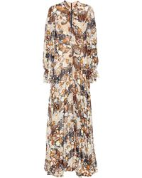 Chloé - Silk Maxidress - Lyst