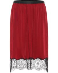 JOSEPH - Lace-trimmed Skirt - Lyst