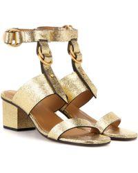 Chloé - Kingsley High Sandals - Lyst
