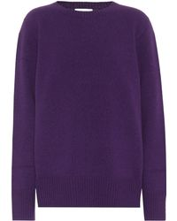 The Row - Sibel Wool And Cashmere Sweater - Lyst