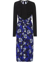Proenza Schouler - Floral-printed Jersey Dress - Lyst