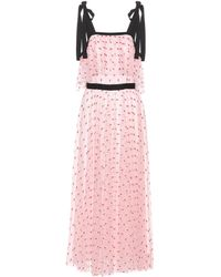 Philosophy Di Lorenzo Serafini - Embroidered Tulle Dress - Lyst