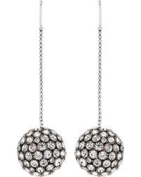 Isabel Marant - Crystal-embellished Earrings - Lyst
