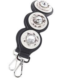 Fendi - Mini Strap You Snakeskin-trimmed Bag Strap - Lyst