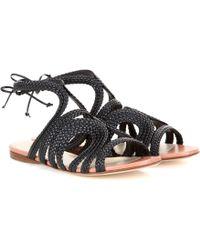 Francesco Russo - Leather Sandals - Lyst