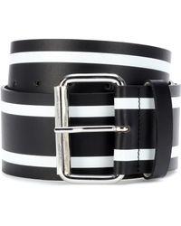 Monse - Striped Leather Belt - Lyst