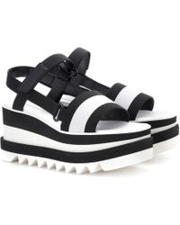 Stella McCartney - Sneak-elyse Platform Sandals - Lyst