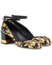 Dolce & Gabbana - Pumps Devotion in broccato - Lyst