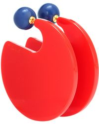 Marni - Two-tone Circle Earrings - Lyst