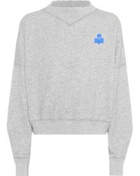 Étoile Isabel Marant - Madilon Cotton-blend Sweatshirt - Lyst