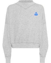 Étoile Isabel Marant - Sweat-shirt en coton mélangé Madilon - Lyst