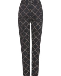 Étoile Isabel Marant - Janelle Printed Cotton Trousers - Lyst