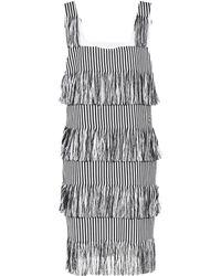 Prism - Nevis Fringed Cotton Dress - Lyst