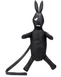 Rick Owens - Monster Rabbit Leather Clutch - Lyst